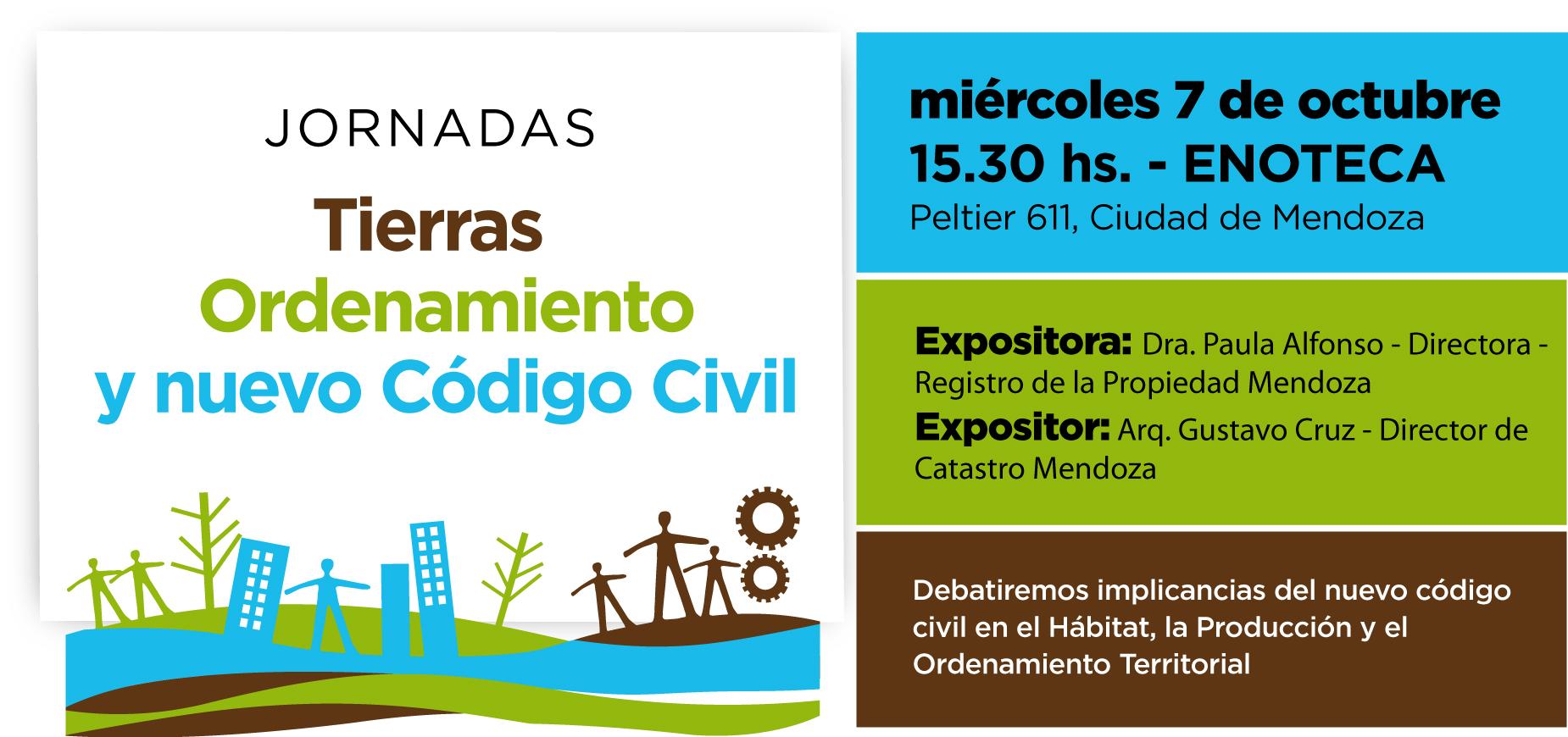 JORNADAS TIERRA ORDENAMIENTO CODIGO -  1º jornada