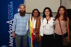 Ministra de Cultura Marizul Ibáñez Presentación de Ameicanto