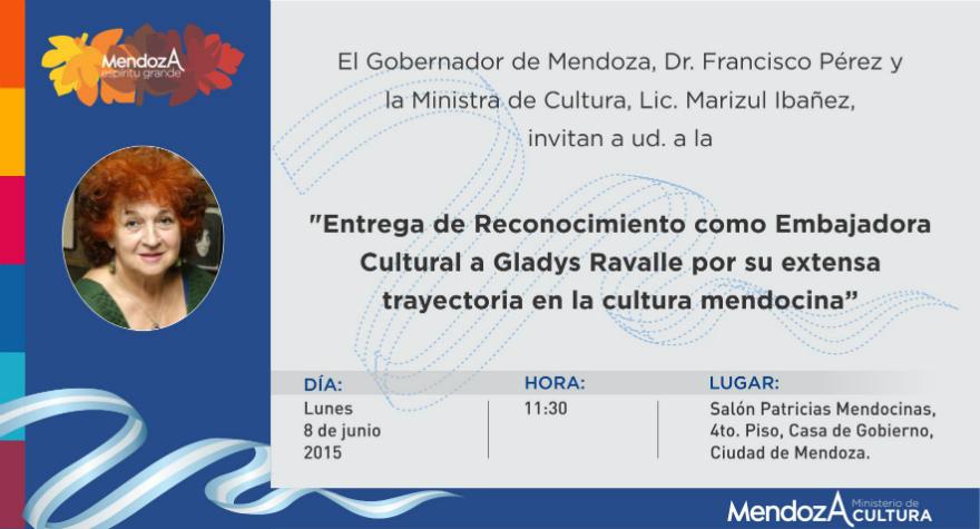 INVITACION GLADYS RAVALLE