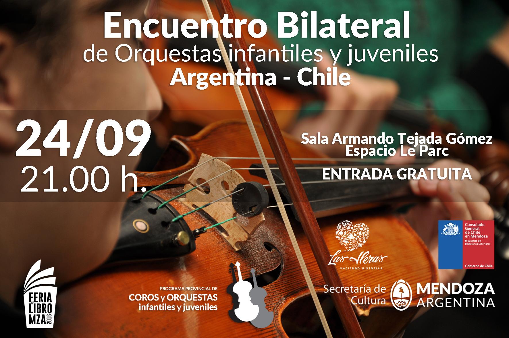 ENCUENTRO BINACIONAL DE orquestas infantiles