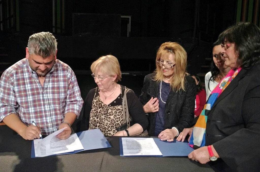 firma de convenios