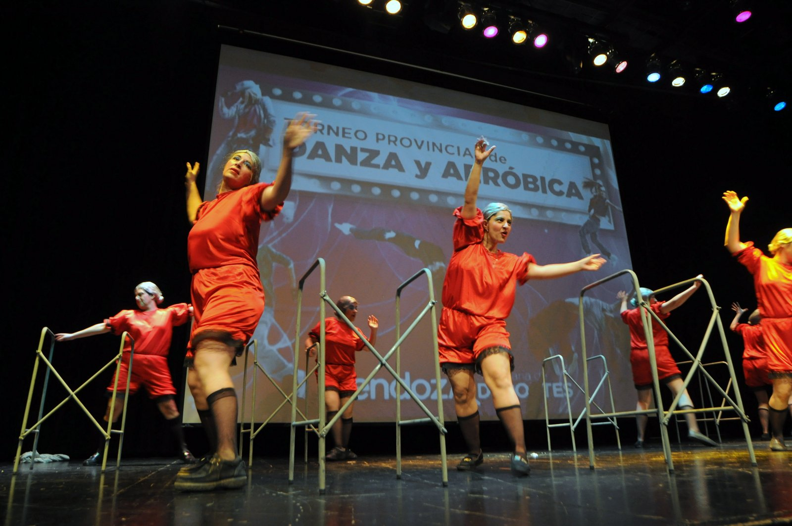 Torneo provincial de danza y aeróbica