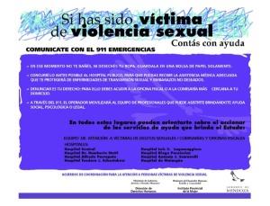 Afiche Víctimas Acuer