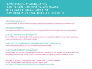 Volante prevención HPV dorso 2015