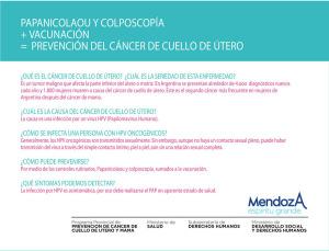 Volante prevención HPV frente 2015