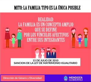 Flyer familia igualitaria