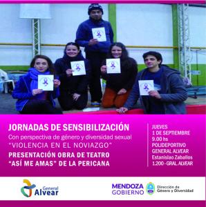 Flyer Presentación Alvear