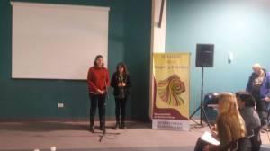 Silvina y Débora en Alvear