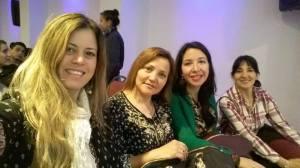 Chicas con Mansilla