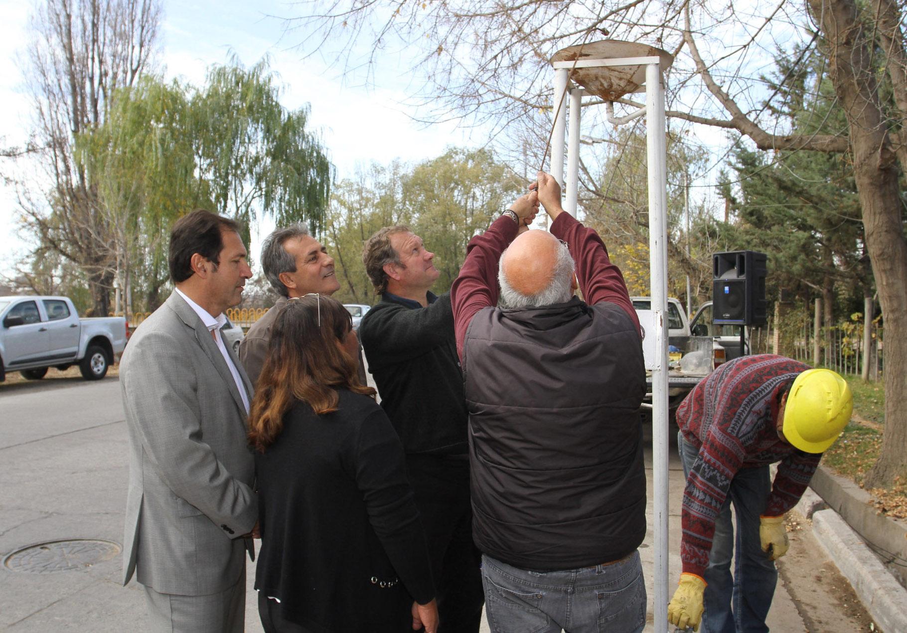 Inauguración red de gas