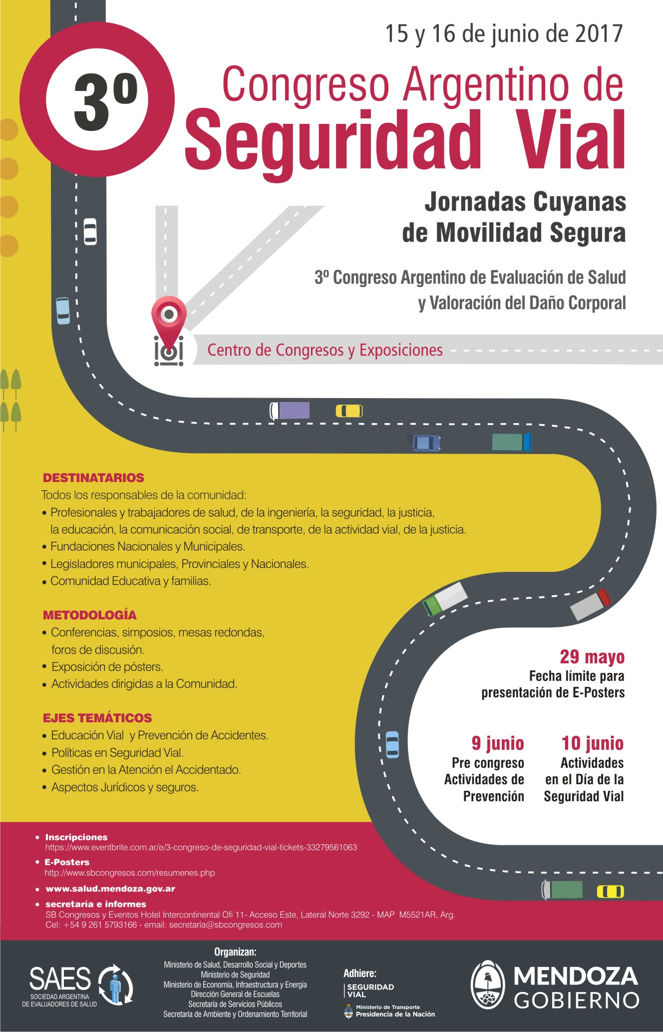 afiche congreso Seguridad Vial para web