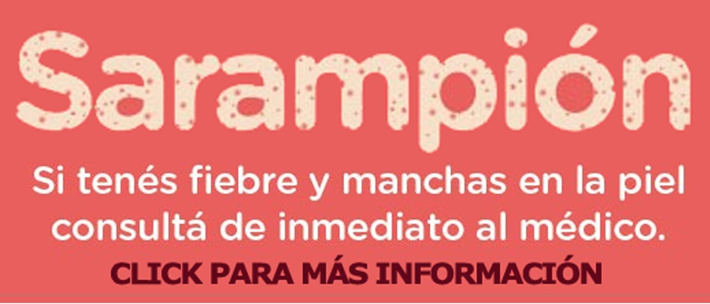 Alerta Sarampión