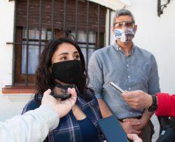 Economía relevó daños por heladas tardías en fincas de San Martín y Junín :  Prensa Gobierno de Mendoza