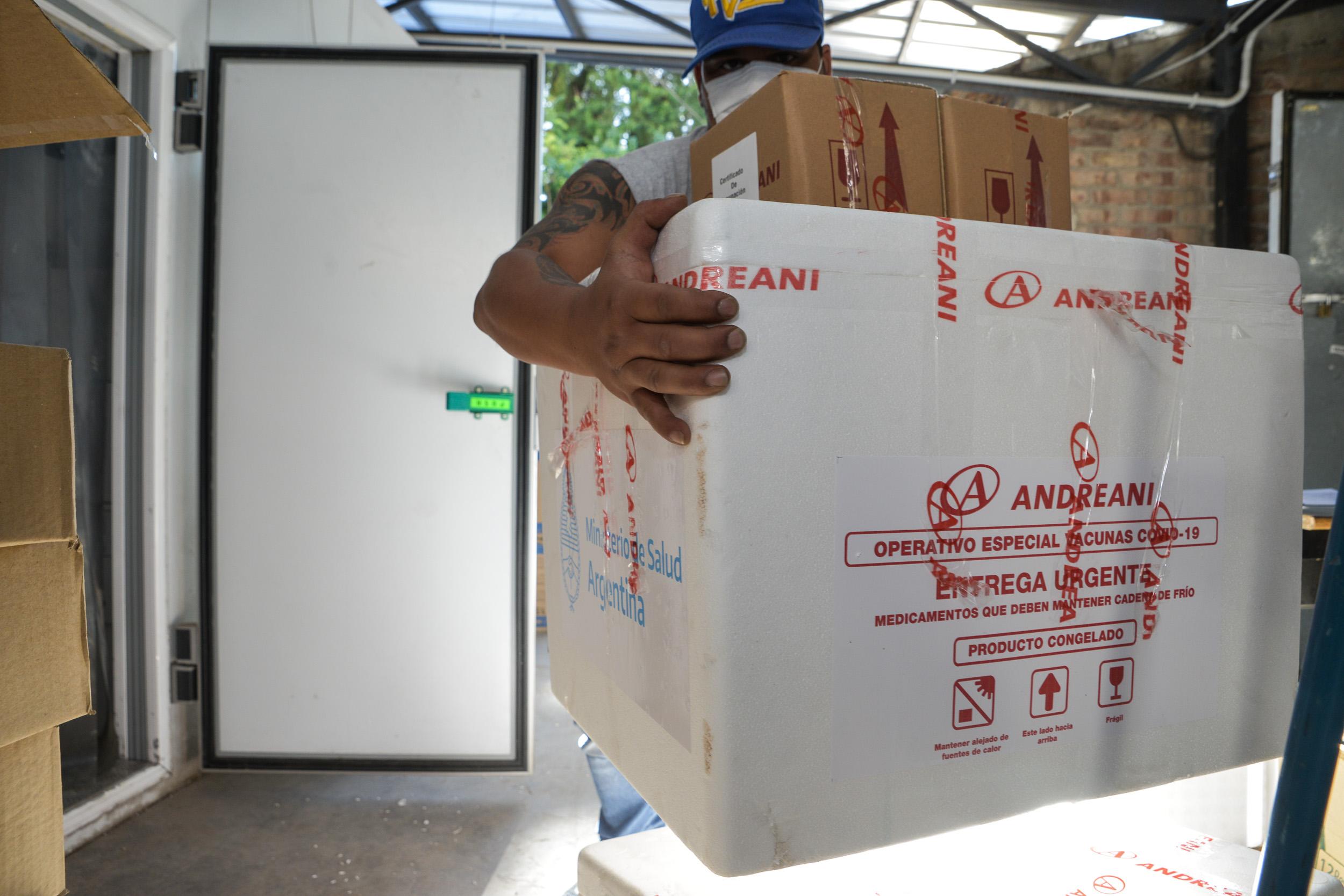 Mendoza recibió 5500 segundas dosis de la vacuna Sputnik V : Prensa  Gobierno de Mendoza