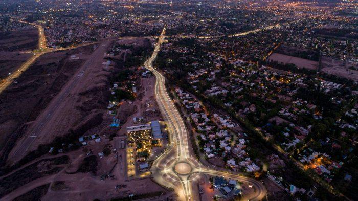 Panamericana: la primera imagen de la Mendoza 2040