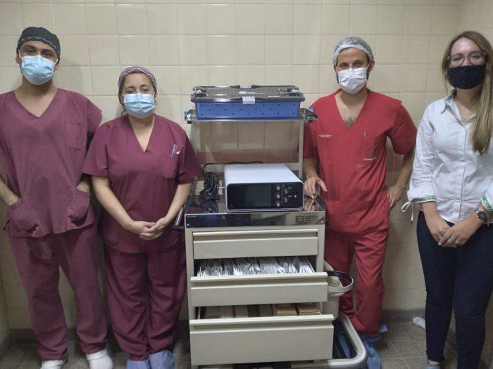 Hospital Central: el Gobierno de Mendoza suma equipamiento para Neurocirugía