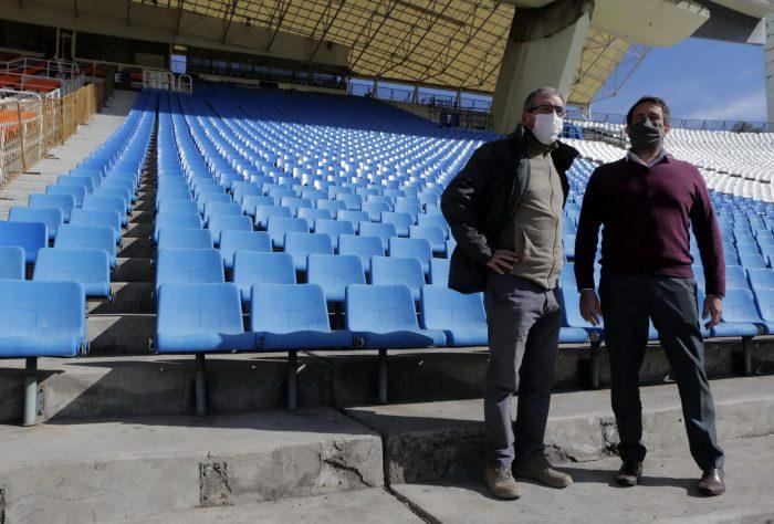 Están al 90% las obras de remodelación del estadio Malvinas Argentinas