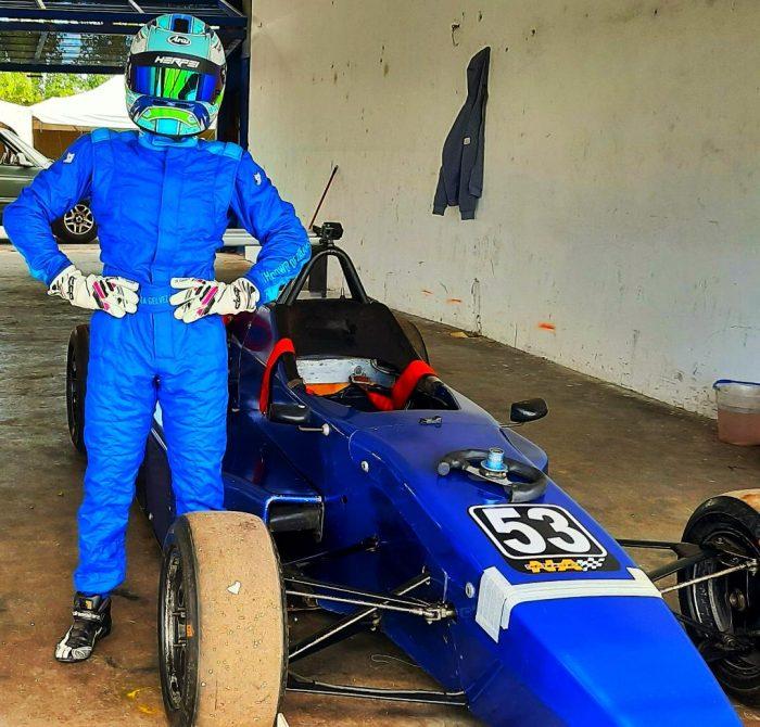 Julieta Gelvez, y su objetivo de debutar la Fórmula 3