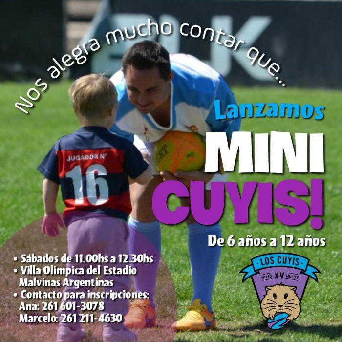 Se realizará este sábado el lanzamiento de Mini Cuyis