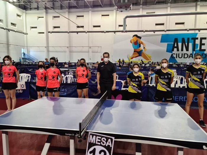 Valentina Batista se prepara para el Argentino de tenis de mesa